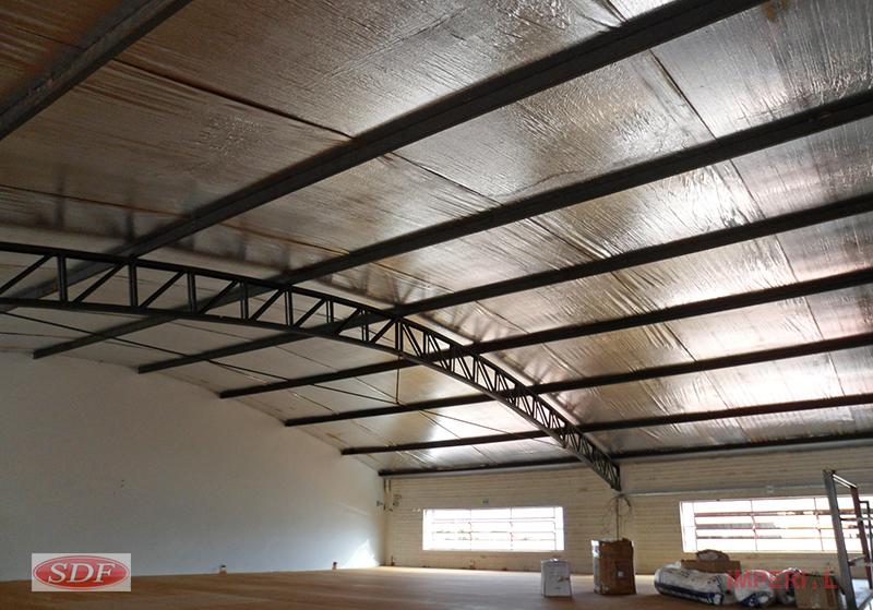 Isolante Térmico para telhados, nós temos!