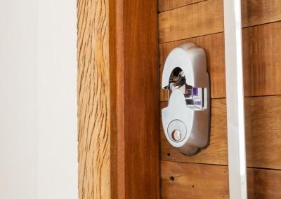 Nossa fechadura biométrica